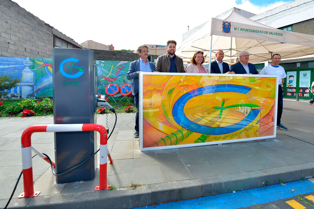 Gorona del Viento El Hierro launches recharging points for electric vehicles