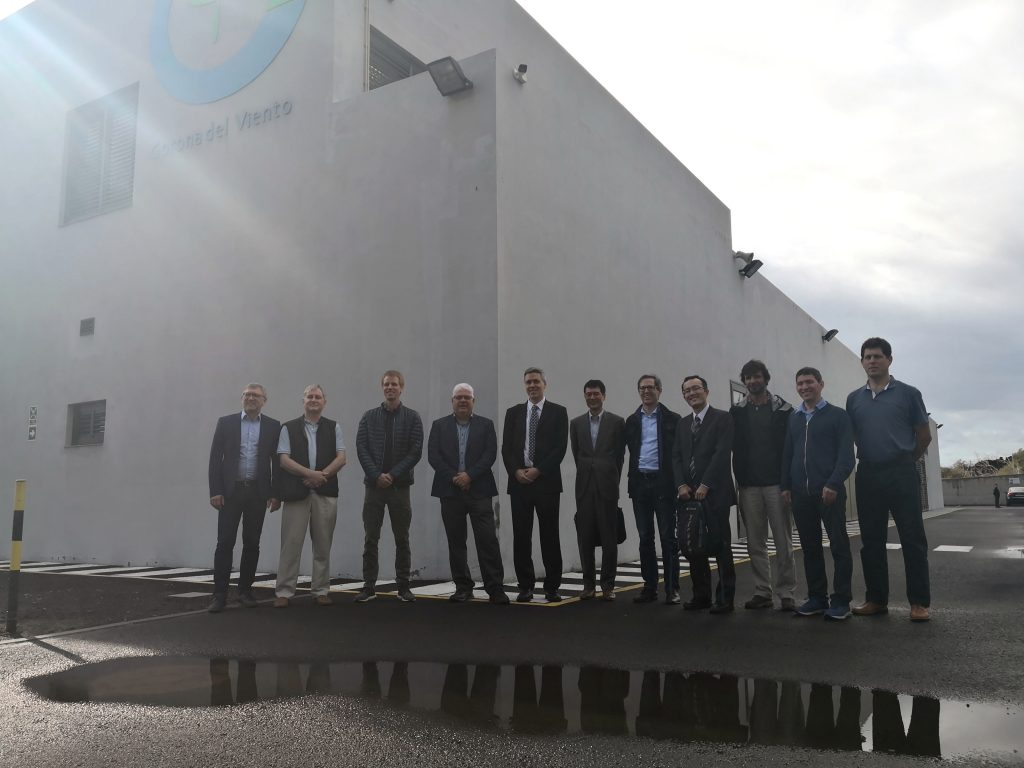 The International Energy Agency visits the El Hierro´s Wind Pumped Hydro Power Station