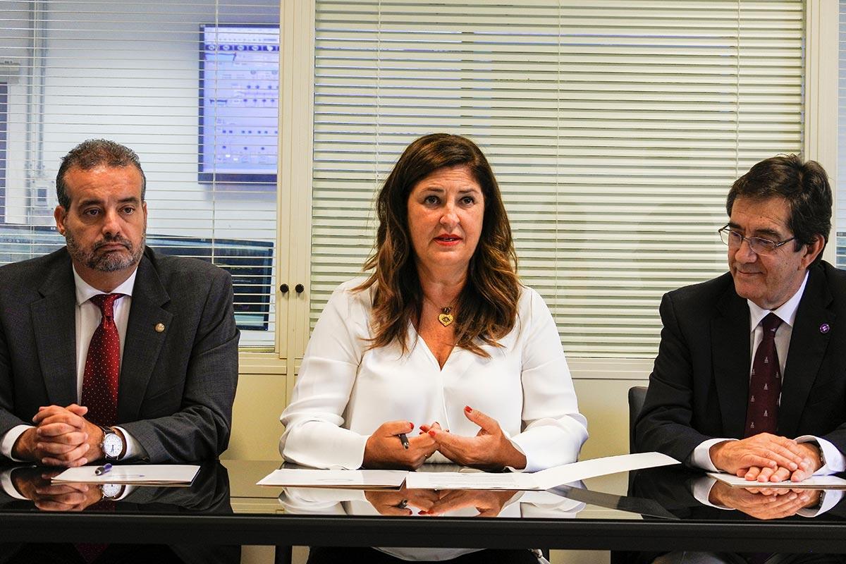 Martinón y Robaina firman en El Hierro un importante acuerdo de colaboración con Gorona del Viento