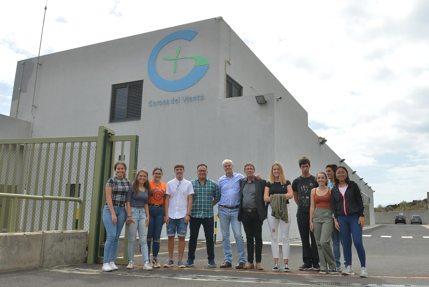 Los estudiantes becados por Gorona del Viento narran su experiencia de inmersión lingüística