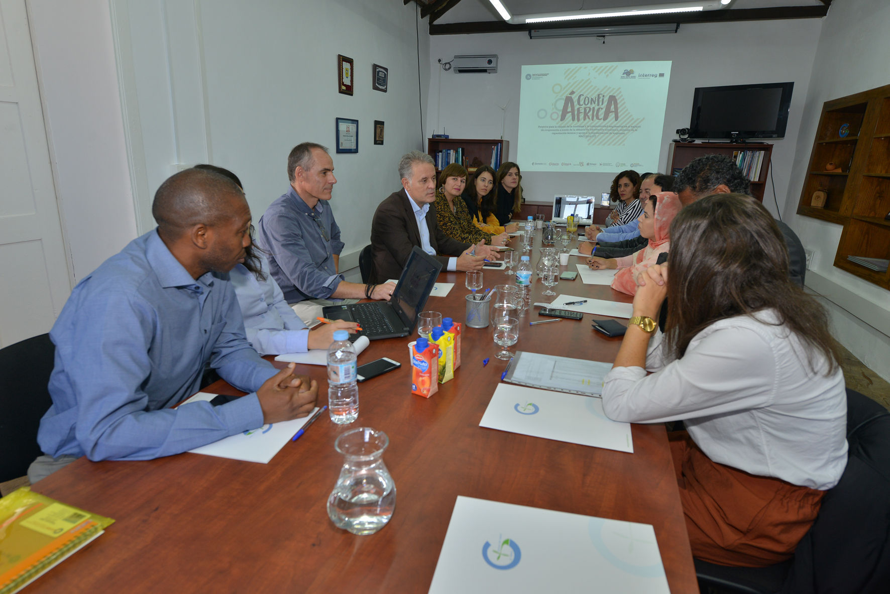 Gorona del Viento estrecha sus lazos de colaboración con países de África