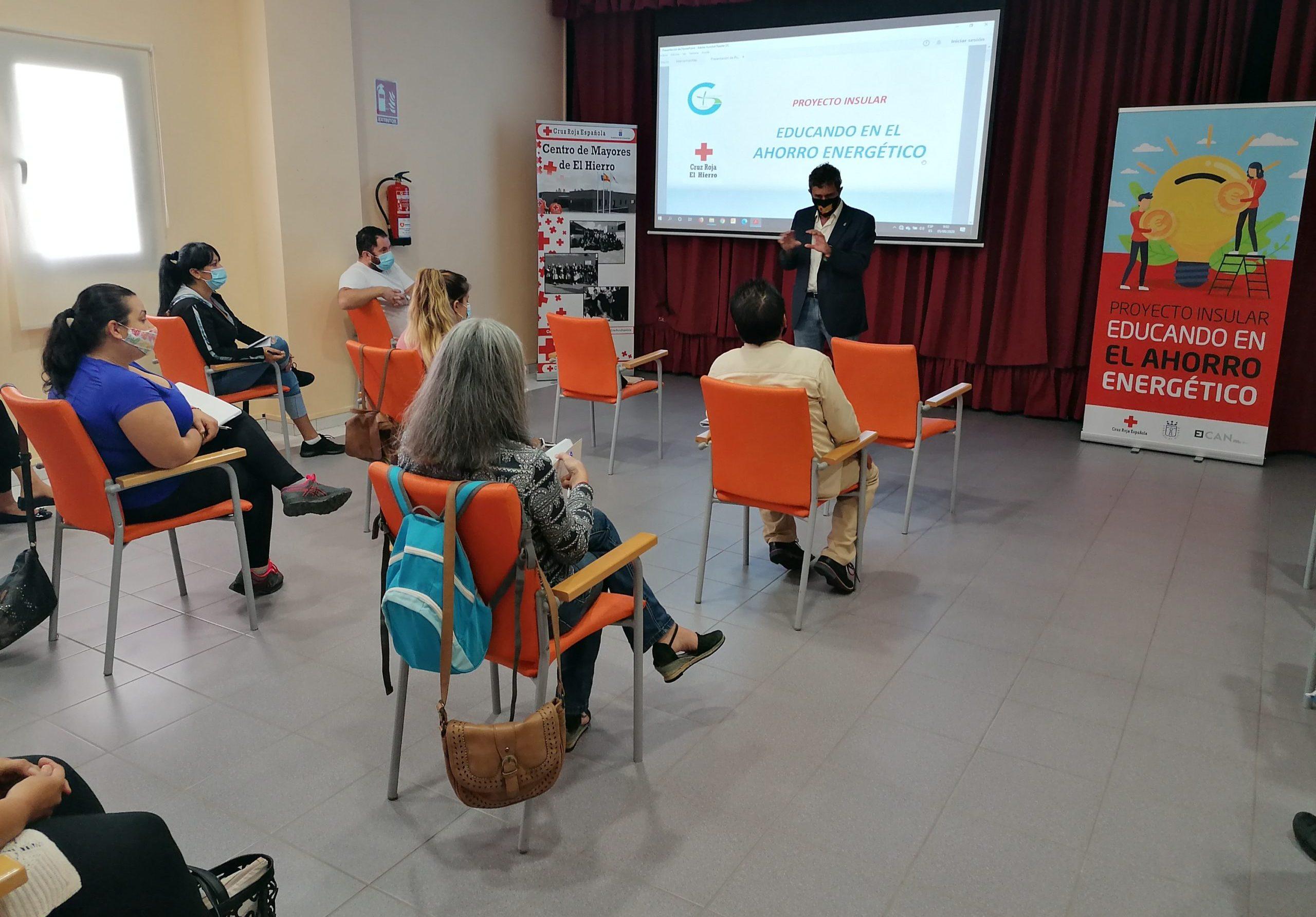 Gorona del Viento colabora con Cruz Roja en labores de concienciación